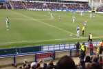 Mad Chicken Runs onto Pitch During Soccer Game