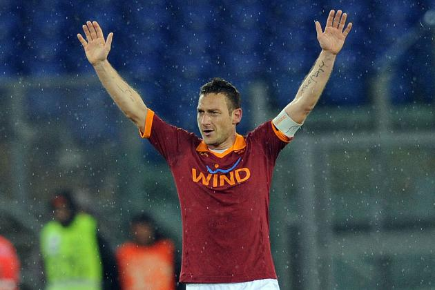 Roma's Totti Scores 226th Goal, Shows Why He's 'Bigger Than the Club, Itself'