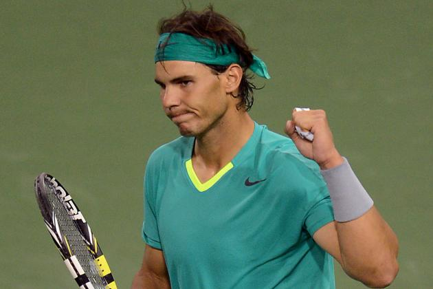 Rafael Nadal's Win Over Roger Federer at Indian Wells Is Message to Competition