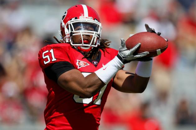Georgia LB Wilson Eager to Step Up into Starting Role