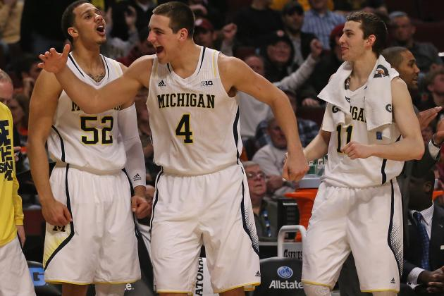 Michigan's Freshmen Prepping for First NCAA Tournament Run