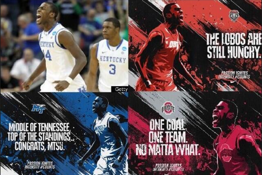 Nike Seemingly Uses Michael Kidd-Gilchrist Image for NCAA Tournament Promos