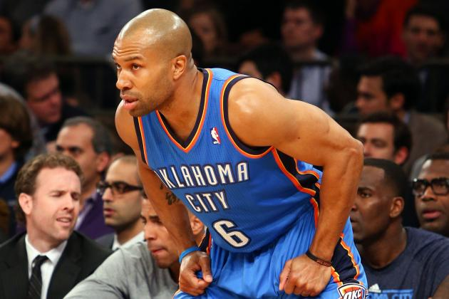 OKC Thunder's Derek Fisher Has 'No Issues' with Mavericks' Mark Cuban