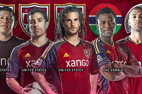 Five Real Salt Lake Players Receive International Calls