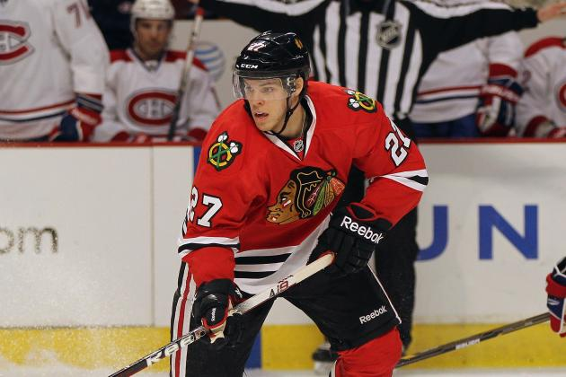 Chicago Blackhawks Farm Report: Late Tussle with Chicago Wolves Caps Weekend