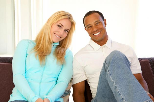 Tiger Woods and Lindsey Vonn Officially Dating Via Awkward Facebook Photoshoot