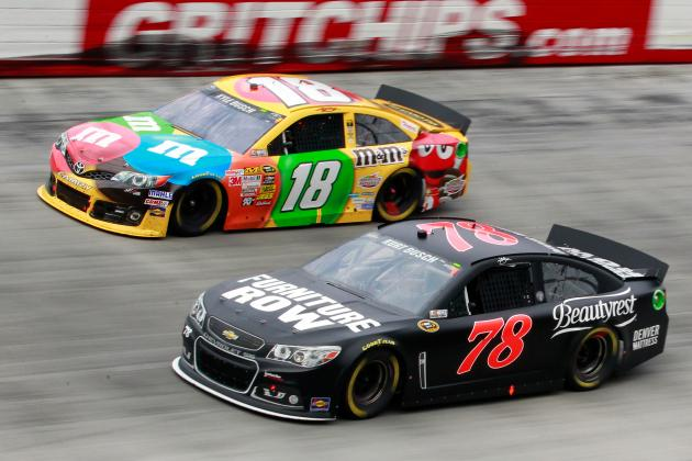 New Car Plus New Track Equals Compelling Race at Bristol