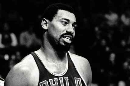Watch Wilt Chamberlain Swat Shots an Arm's Length Above the Rim (Video)