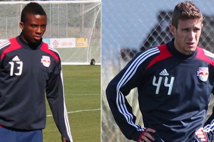 Red Bulls Sign Midfielder Marius Obekop and Forward Rafhinha