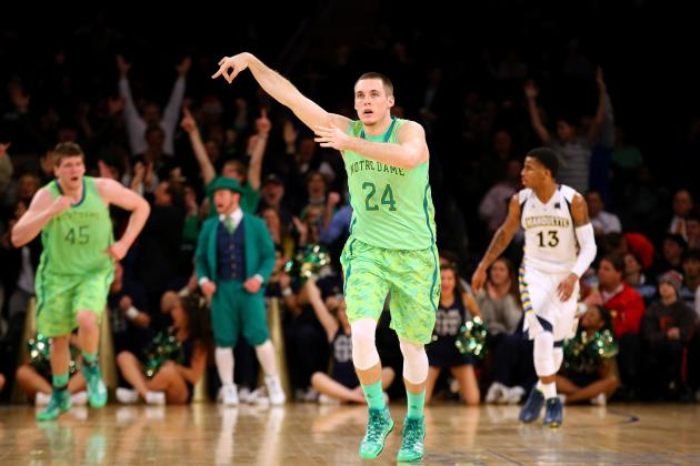 Notre Dame Men's Basketball: Connaughton Figures It Out