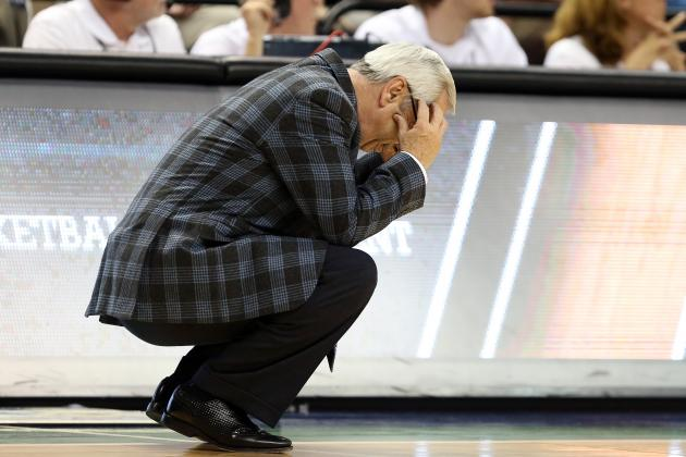 Roy Williams Disappointed in NCAA Tournament Selection Committee