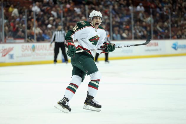 Zucker Returns for Wild's First-Place Showdown with Canucks