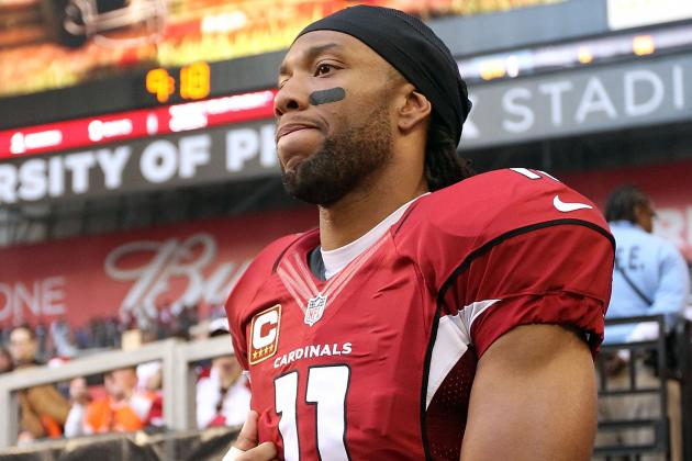 'Zero Chance' of the Cardinals Trading WR Larry Fitzgerald