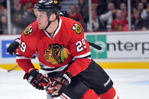 Chicago Blackhawks' Bryan Bickell Finds His Comfort Zone