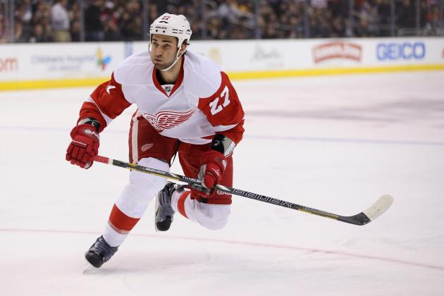 Detroit Red Wings' Kyle Quincey to Miss 4-6 Weeks