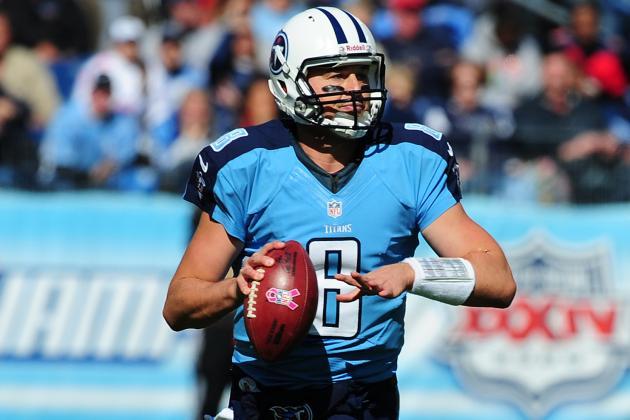 Titans Release QB Matt Hasselbeck