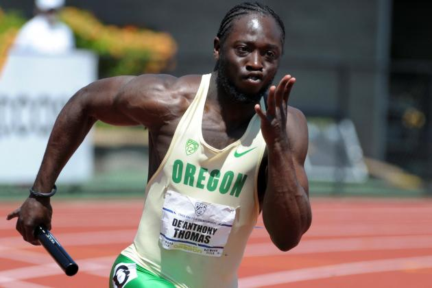 De'Anthony Thomas' Three Wins Spur Oregon in Outdoor Track Opener