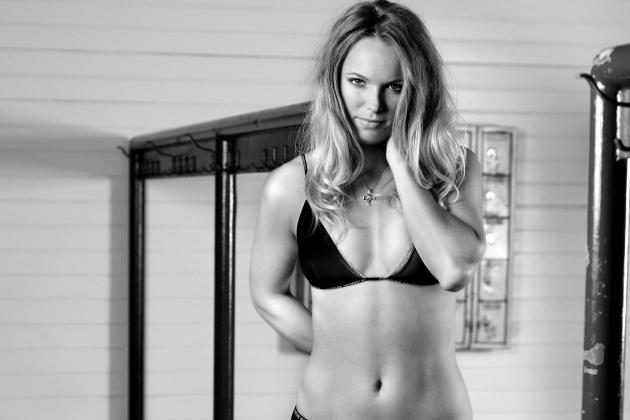 Caroline Wozniacki Brings Sexy Back with New Underwear Pictures