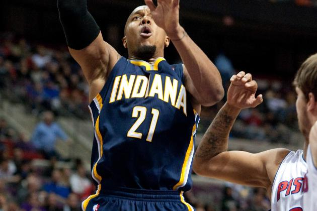 David West (Sprained Back) out vs. Cavs