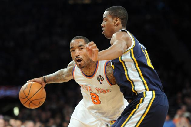 New York Knicks vs. Utah Jazz: Live Score, Results and Game Highlights