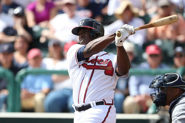 J-Upton Homers Twice in Braves' Slugfest Win Against Philly