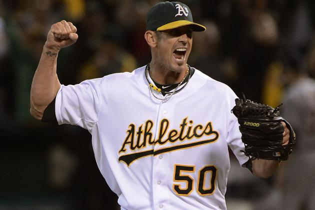Grant Balfour Throws for 1st Time Since Surgery