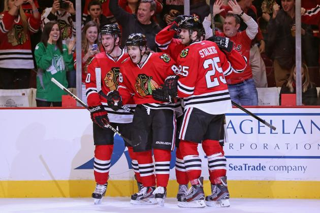 Floodgates Finally Open for Blackhawks' Brandon Saad
