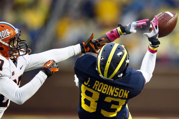 Ex-Michigan Receiver Jerald Robinson Arrested on Felony Drug Trafficking Charge