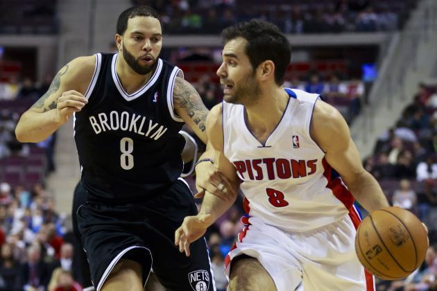 Nets Beat Pistons 119-82