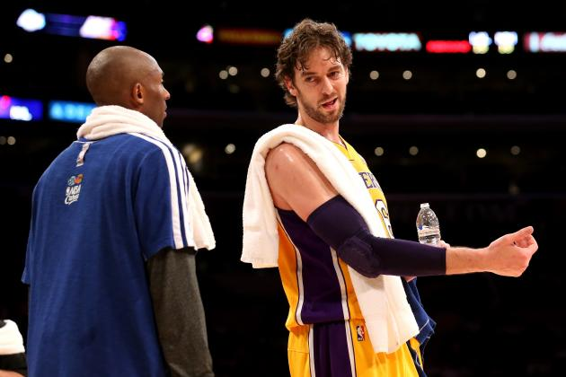 Pau Gasol: Lakers Big Man Should Come off the Bench Upon His Return