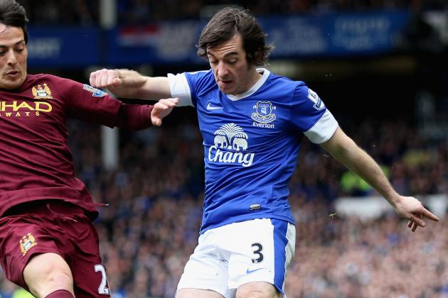 Everton Defender Baines Hails Mucha's Goalkeeping Performance