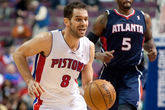 Jose Calderon Questionable to Return vs. Nets