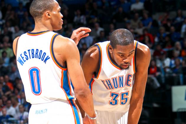 Kevin Durant and Russell Westbrook on Pace to Make Unique NBA History