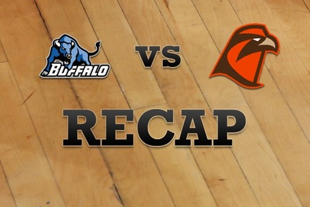 Buffalo vs. Bowling Green: Recap, Stats, and Box Score