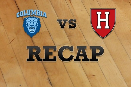 Columbia vs. Harvard: Recap, Stats, and Box Score