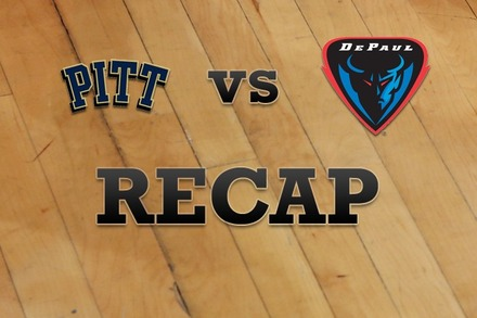 Pittsburgh vs. DePaul: Recap, Stats, and Box Score