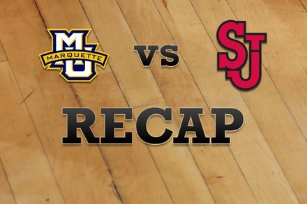 Marquette vs. St John's: Recap, Stats, and Box Score
