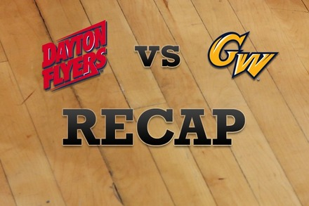 Dayton vs. George Washington: Recap, Stats, and Box Score