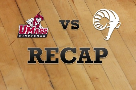 Massachusetts vs. Rhode Island: Recap, Stats, and Box Score