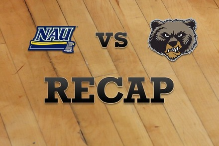 Northern Arizona vs. Montana: Recap, Stats, and Box Score