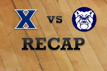 Xavier vs. Butler: Recap, Stats, and Box Score