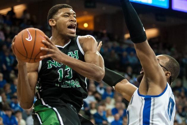 North Texas Forward Tony Mitchell Declaring for NBA Draft