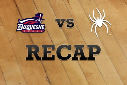 Duquesne vs. Richmond: Recap, Stats, and Box Score