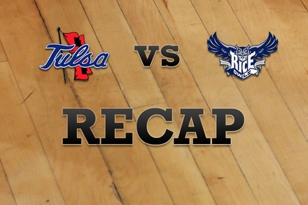 Tulsa vs. Rice: Recap, Stats, and Box Score