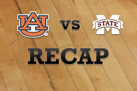 Auburn vs. Mississippi State: Recap, Stats, and Box Score