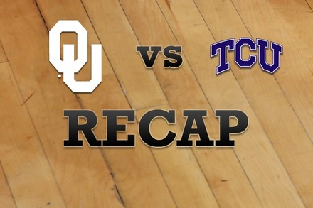 Oklahoma vs. TCU: Recap, Stats, and Box Score