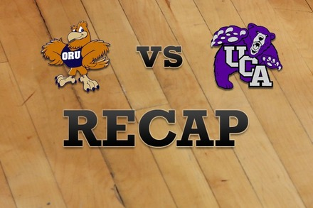 Oral Roberts vs. Central Arkansas: Recap, Stats, and Box Score