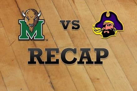 Marshall vs. East Carolina: Recap, Stats, and Box Score