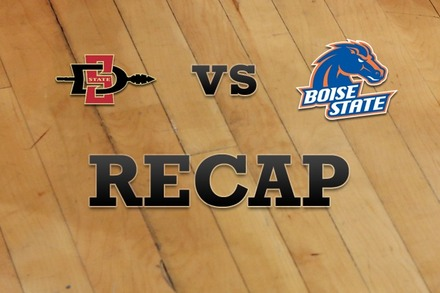San Diego State vs. Boise State: Recap, Stats, and Box Score