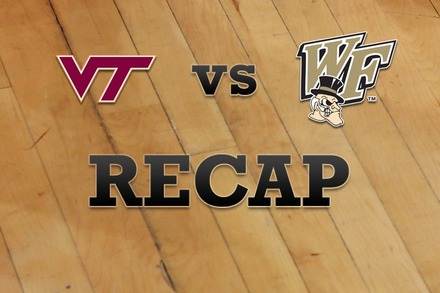 Virginia Tech vs. Wake Forest: Recap, Stats, and Box Score